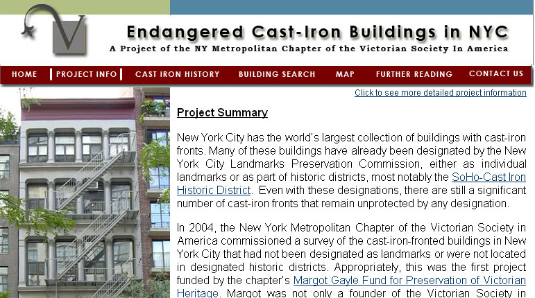 Endangered Cast Iron Architecture of NYC