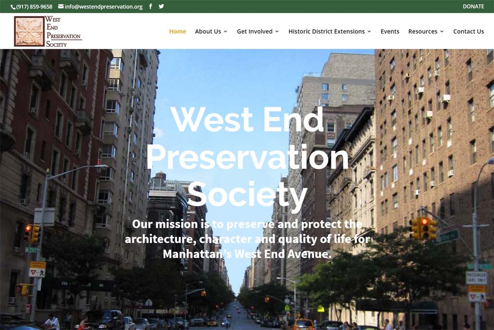 West End Preservation Society (WEPS)